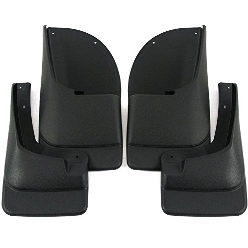 Red Hound Auto Molded Mud Flaps Compatible with Ford 1999-2007 F250 F350 &...