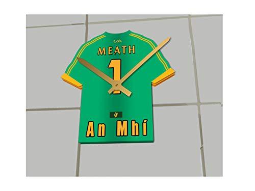 MyShirt123 GAA Sports Irland – Fußballtrikot Uhr – jeder Name, jede Nummer und jedes Team – die Wahl ist Sie. !, Meath Gaelic Fußballtrikot, 175 MM X 150 MM X 10 MM