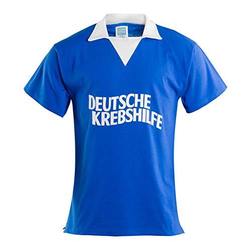 Mundo FC Schalke 04 Retro Trikot Deutsche Krebshilfe