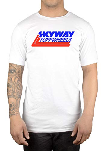 Skyway Tuff Wheels New Retro BMX T-Shirt Cycling Bandit Bike Mongoose