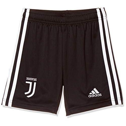 adidas 19/20 Juventus Home Youth, Shorts Bambino, Black/White, 11-12A