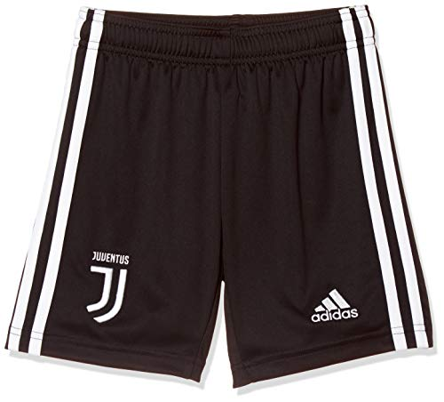 adidas 19/20 Juventus Home Youth, Shorts Bambino, Black/White, 11-12A