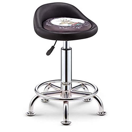 Barstools-BYTGK La ontbijt is een eetkamerstoel en zitkruk zachte zitting tafel bureaustoel in hoogte verstelbaar draaistoel computerstoel Spa Clinic Salon J1104