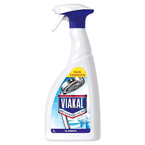 Viakal Spray Anticalcare, Maxi Formato da 1 L