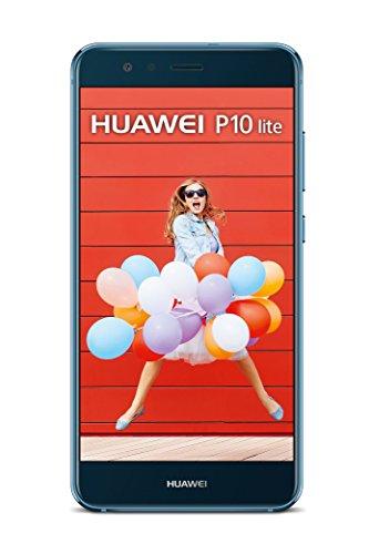 Huawei P10 lite Dual SIM 4G 32GB Blue smartphone - smartphones (13.2 cm (5.2 ), 1920 x 1080 pixels, IPS, 1500:1, 16:9, Multi-touch)