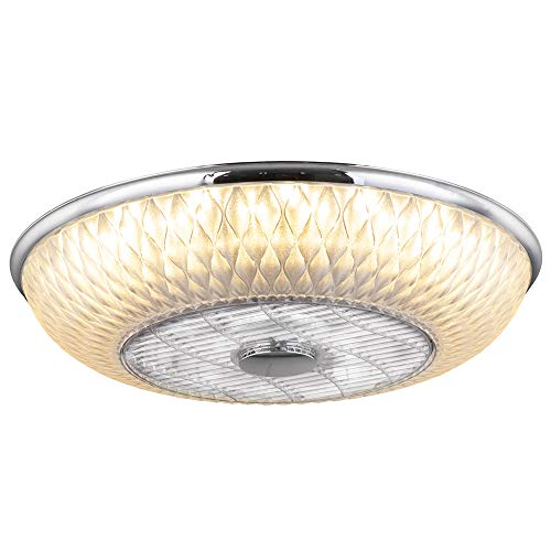 LED 3-Stufen Decken Ventilator Fernbedienung Tageslicht Leuchte Kühler dimmbar Lüfter Lampe Globo 03622