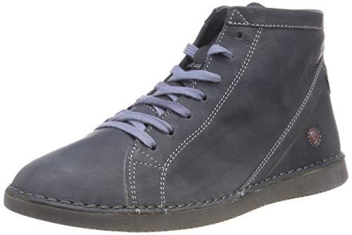 Softinos Damen TOZ474SOF Washed Leather Stiefeletten, Blau (Navy 003), 40 EU