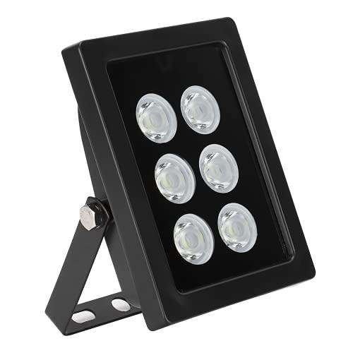 LED-vullicht, waterdicht vullicht aluminiumlegering IP66 waterdicht DC12V met 6-delige LED-lampkralen voor huisbeveiliging