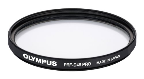 Olympus - Filtro Protector para Mzuiko 12 mm (diámetro 46 mm)