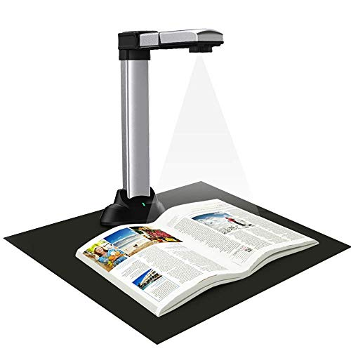Review Document Camera 18.0 MP Auto Focus Portable A3 Large Format Scanner high Speed Classroom vius...