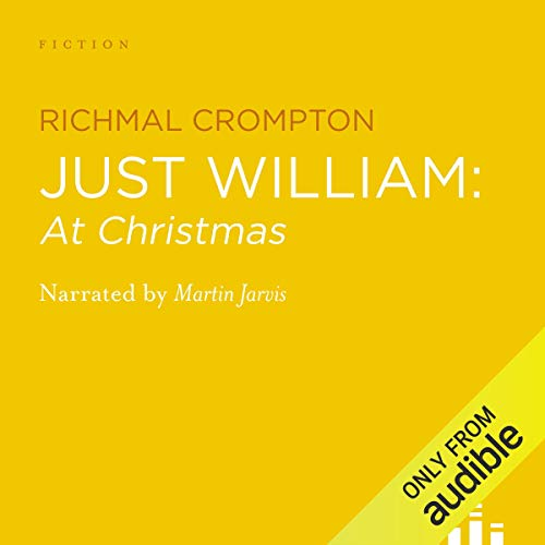 Just William at Christmas audiobook cover art
