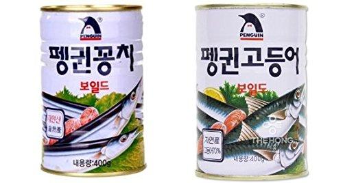 Canned Mackerel & Mackerel Pike Combo(Pack of 2)
