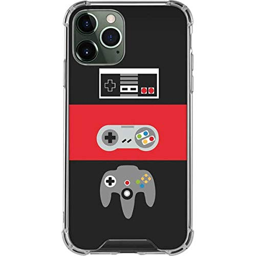 Skinit Clear Phone Case Compatible with iPhone 12 Pro - Skinit Originally Designed Nintendo Controller Evolution Design