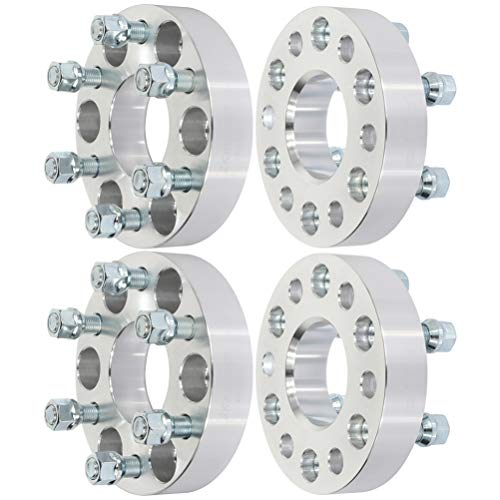 ANGLEWIDE 6x120 1.25 inch Wheel Spacers 6 Lug 6x120mm to 6x120mm 14x1.5 Studs fits for Cadillac SRX for Chevrolet Colorado for GMC Canyon
