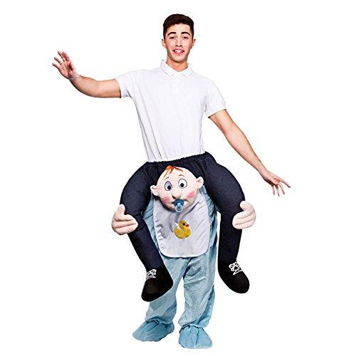 Carry Me Me–Disfraz cavalcioni Bebe 'para adultos, talla única, ma-8590