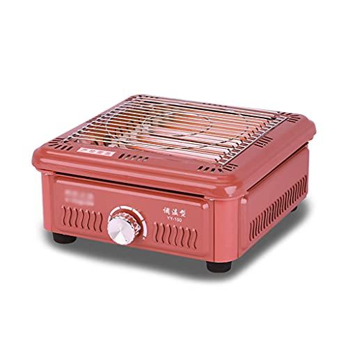 SHENXINCI Mini Calefactor Portatil Fast Heater,Calentador de Barbacoa Calentador de Espacio Portátil,Calentamiento del Tubo de Cuarzo para Su Uso como Calentador de Oficina, 27x27x13cm