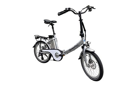 GermanXia Elektro-Faltrad Mobilemaster Touring CH 7G Shimano 20 Zoll, eTurbo 250 Watt HR-Antrieb, bis zu 138 km Reichweite nach StVZO Bild 5*