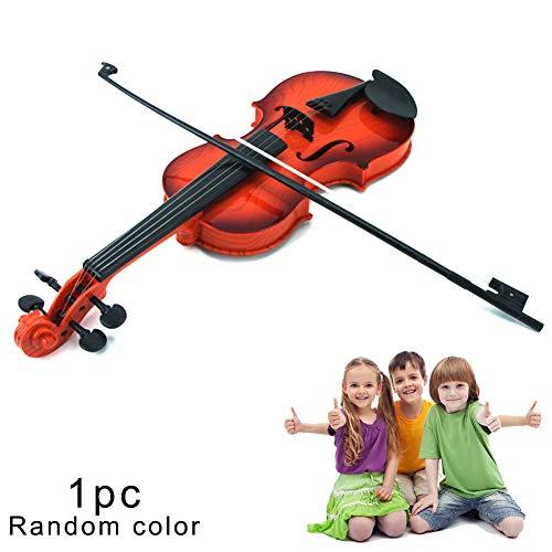 Nicejoy 1 Pc-Simulation Violine Musical Spielzeug-Kind-Instrument Spielzeug Pädagogische Spielzeug-Violine Spielzeug Educational Lernspielzeug, Zufällige Farbe