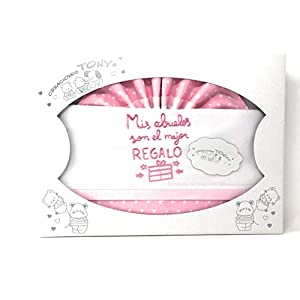 Danielstore-Sabanas Cuna 60×120 algodon 100% – (bajera+encimera+funda almohada).(Abuelos rosa)