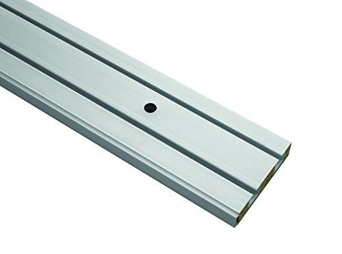 Gardinia Vorhangschiene GE2, 2-läufig, Farbe: weiß, Länge: 180 cm
