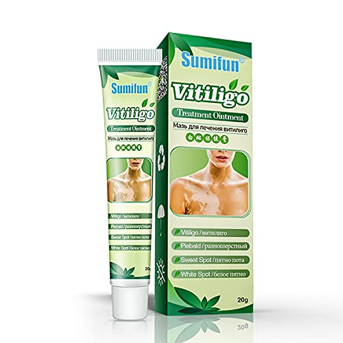 Sumifun Vitiligo Cream, Vitiligo Care Cream for Skin Vitiligo, Psoriasis, Leukoplakia - Reduces White Spots on Skin and Improve Skin Pigmentation (6 Counts)