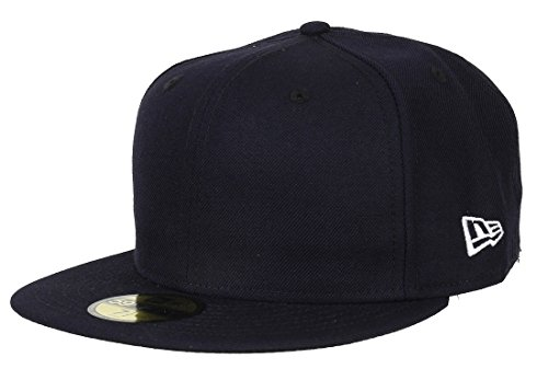 New Era 59fifty Basecap Blank Navy - 7 3/8-59cm