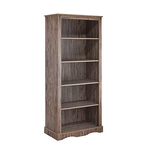 Elegant Home Fashions Elegant Home Fahsions Bookcase, Wren Maple