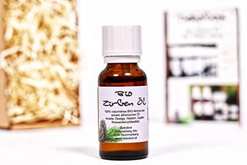 Bio Zirbenöl 10ml - 100% naturrein - höchste Qualität durch Destillation