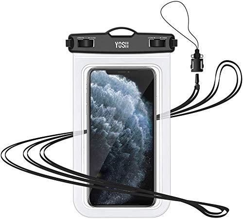 professionnel comparateur Coque étanche pour smartphone YOSH [IPX8] Coque étanche pour téléphone portable, coque étanche pour smartphone… choix