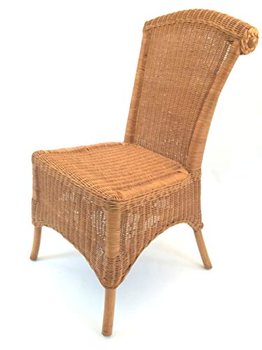 Sessel/Stuhl Rattanstuhl, Rattansessel aus Peddigrohr Wellington