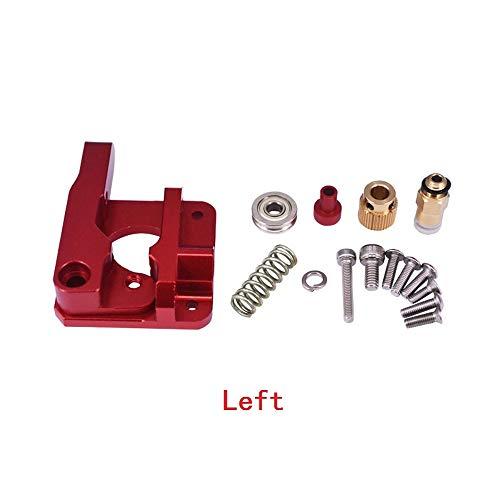 3D Printer Deel Volledige Metalen Afstandsbediening Aluminium Extruder Set 1.75mm Verbruiksartikelen Filament DIY Handgereedschap Left