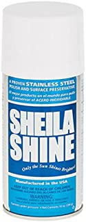 Sheila Shine 461216 Stainless Steel Cleaner and Polish, 10 oz.