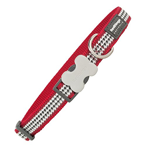 Red Dingo GmbH 9330725064263 Collar Perro Fang It, S, Rojo