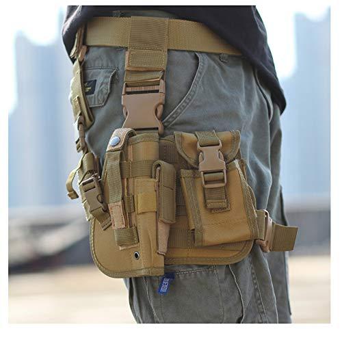 Tactical Drop Leg Holster, 900D Military Tactical MOLLE...