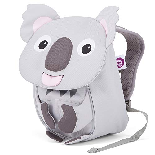 Affenzahn Kleiner Freund - Kindergartenrucksack für 1-3 Jährige Kinder im Kindergarten und Kinderrucksack für die Kita - Koala - Grau