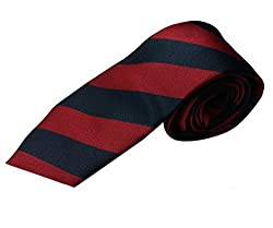 Blacksmith Mens Necktie (Blmaroontie_Maroon_Free Size)