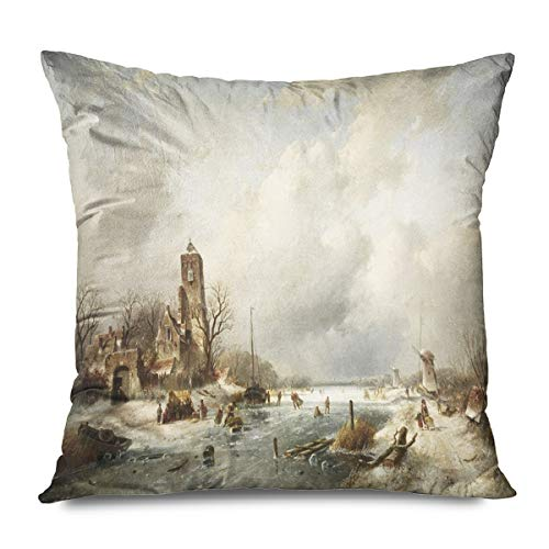 Onete Throw Pillow Cover Square 20