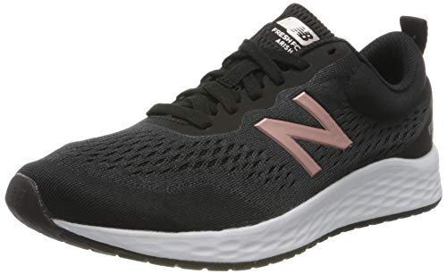 New Balance Fresh Foam Arishi V3, Zapatillas para Correr de Carretera Mujer, Negro (Black/White/Rose Gold), 36.5 EU