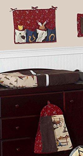 Sweet Jojo Designs 11-Piece Wild West Western Horse Cowboy Baby Boy Bedding Crib Set Without Bumper