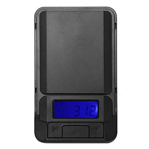 Mini balanza digital electrónica café espresso portátil bolsillo gramo comida cocina calibración peso para té joyería escuela