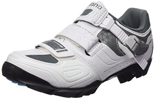 Shimano SHWM64C380W Zapatillas de ciclismo de carretera, Mujer, Blanco (White), 38 EU (4 UK)