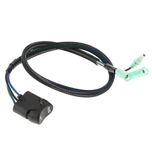 MagiDeal Interruptor de Ajuste de Barco 35370-ZZ5-D02 Interruptor de Palanca Interruptor de Ajuste de Inclinación para Fuerabordas