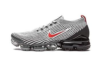 Nike Mens Air Vapormax Flyknit 3 Particle Grey/Black-Iron Grey- Aj6900 012 - Size 10