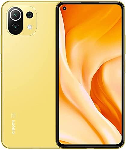 Xiaomi Mi 11 Lite 5G - Smartphone 128GB, 8GB RAM, Dual Sim, Citrus Yellow