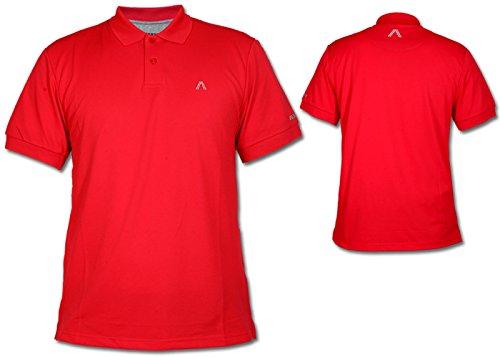 Alberto Herren Golfshirt Poloshirt Hugh dunkelrot Gr. S