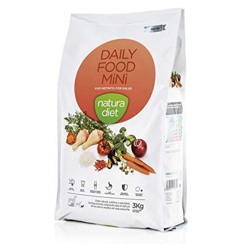 Natura Diet Comida Seca para Perros Mantenimiento Razas Mini - 3000 gr
