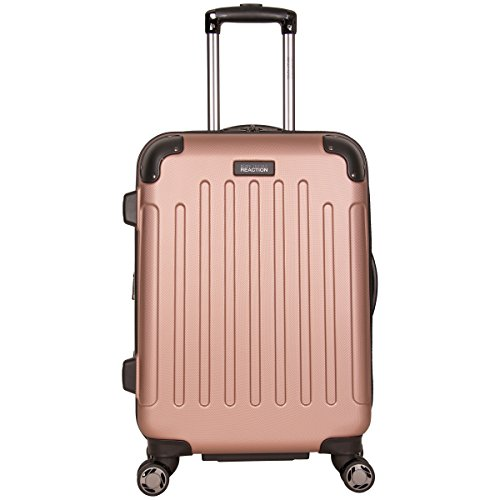 "Kenneth Cole Reaction Renegade 20"" ABS Expandable 8-Wheel Carry-On, Rose Gold, inch"
