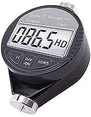 Pantalla LCD Durómetro Shore Durómetro Tipo D 0-100HD digital para los productos del caucho duro de la resina de acrílico vidrio industrial