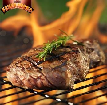 Bautzner Steak Fleisch Grillpaket | Mariniertes Grillfleisch mit Bier, Schwarzbier, Kräuter und Bautzern Senf Marinade | Frisches Steakfleisch für Grill und Pfanne (4x Set, 2400 GR)