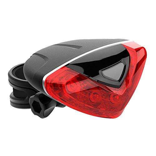 Generic Fahrradbeleuchtung Kinder, Reitausrüstung Wasserdicht Rot Herzförmige Fahrrad Rücklicht Sicherheitswarnung Rücklicht Herkunft Quelle Vier Modi.